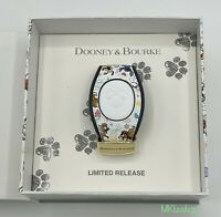 New Disney Parks 2020 White Dooney & Bourke Dogs Magic Band Limited Release LR