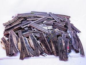 83661 Konvolut ca. 6,5 kg Märklin H0 M-Gleis Gerade Kurven Weichen gebraucht