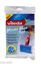 3 x Vileda Magic Mop Head Flat Sponge Refill - 110620 - 3 Pack Refills