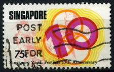 Singapore 1976 SG#278, 75c Youth festival Used #D47016