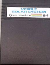 VISIBLE SOLAR SYSTEM c64 Commodore 64 modulo cartridge (1984)