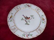 VILLEROY & BOCH HEINRICH CHARLOTTENBURG BIRDS PORCELAIN 16CM BREAD SIDE PLATE