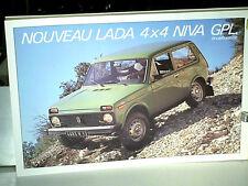 PROSPECTUS LADA NIVA 1990 GPL