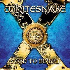 WHITESNAKE - GOOD TO BE BAD (NEW CD)