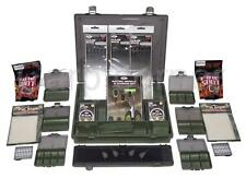 Carp Fishing Tackle Box Set With PVA Leads Rig Wallet Baiting Tools Deal NGT
