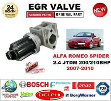 FOR ALFA ROMEO SPIDER 2.4 JTDM 200/210 bhp 2007-2010 EGR VALVE 2PIN with GASKETS