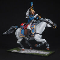 Tin soldier, Trumpeter of the Dragoons, France 1808, Napoleonic Wars, 54 mm