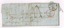ANCIENNE LETTRE 1861 CURE ESPINASSE ( 63 ) SAINT GERVAIS D'AUVERGNE