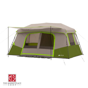 Instant Cabin 11 Person Camping Tent 14' x 14' Outdoor Hiking Tailgating NEW
