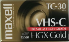 4 Maxell Camcorder Video Tapes Hgx-Gold High Grade New