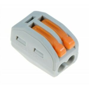 50x Electrical Lever Connectors Wire Terminal Block Clamp wago type