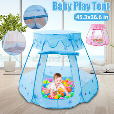 Large Baby Kid Indoor Princess Play Tent Playhouse Ball Pit Pool Toddler Toys