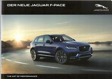 Prospekt / Brochure Jaguar F-Pace 10/2015