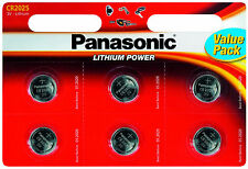 Panasonic Cr2025 Lithium 3 Volt Battery Card of 12