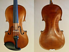 Old violin, Ackermann Lesser, 1902, 4/4 size, case, bow in silver