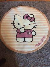 Hello Kitty Flor Teppich Rund 98 cm Mädchen Zimmer zu Möbel Bett Kinderzimmer