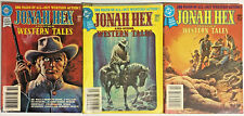 JONAH HEX & OTHER WESTERN TALES#1-3 FN/VF LOT 1979 DC DIGEST COMICS
