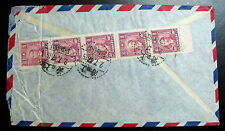 China Air Mail Cover Shanghai 1947 To Usa