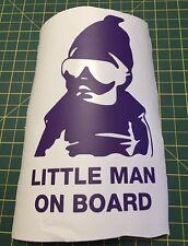 Little Man On Board-Finestra Auto Adesivo Decalcomania In Vinile Paraurti