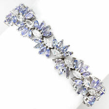 "Tanzanite Statement Fine Gemstone Bracelets 7 - 7.49"" Length"
