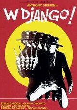 W DJANGO - DVD SIGILLATO - PAL - SPAGHETTI WESTERN - ANTHONY STEFFEN
