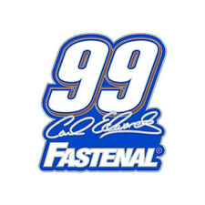 CARL EDWARDS #99 FASTENAL 2013 FORD FUSION NASCAR TEAM RACING PIN