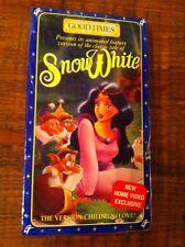 Snow White Video Vhs The Version Children Love