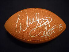 Warren Sapp Autographed NFL Football Oakland Raiders Tampa Bay Buccaneers/ JSA