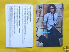 cartes telephone 1998 phone cards 100 units the doors jim morrison telefonkarten