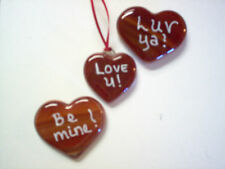 Valentine Hearts, Be mine, Luv Ya! or a saying of yours