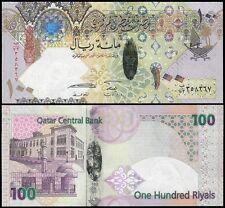 Qatar 100 Riyals, 2007, P-26, UNC, HYBRID