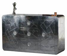 Sideboard Anrichte Kommode AIRMAN 17126 silber