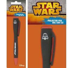 Star Wars - Darth Vader Linterna Proyector Pluma - Nuevo Y Oficial Lucasfilm Ltd