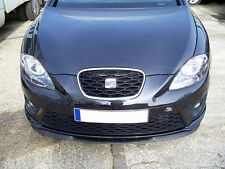 Für Seat Leon 1P Front Spoiler Lippe Frontschürze Frontlippe Frontansatz Cupra R