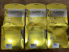 Luxilon 4G 125 16L 40' tennis string 6 sets LOT New WRZ997110