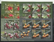 ROMANIA STAMPS 2017 FOREST FRUIT HEALTH MNH KLBG Berries