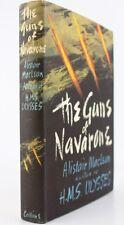 1957*THE GUNS OF NAVARONE*ALISTAIR MACLEAN*1st EDITION*ORIGINAL DUSTJACKET*FIRST