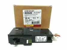 Square D HOM120CAFI Circuit Breaker, 20 Amp Arc Fault Breaker