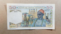 French West Africa 50 francs 1953