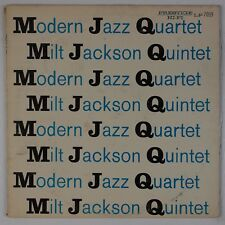 MODERN JAZZ, MILT JACKSON QUINTET: Prestige Jazz NJ Orig DG 7059 LP NM- Wax