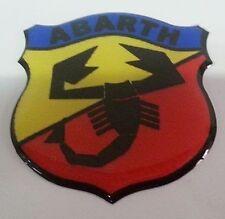 Fregio stemma logo ABARTH SCUDETTO h 50mm FIAT 500