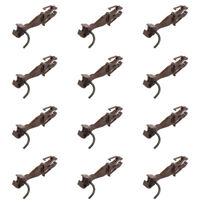 12pcs Couplers Train ho scale Knuckle Spring Coupler diy accessories hooks