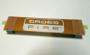 Wieson CrossFire Bridge Flex Cross Fire 8cm flexibel PCI-E Grafikkarten Brücke