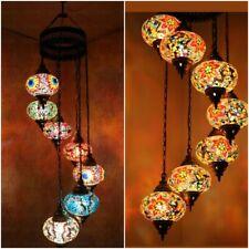 7 9 Turkish Moroccan Mosaic Hanging Lamp Home Decor