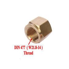 DIN 477/ W21.8 CO2 Carbon Dioxide Regulator Inlet Nut