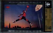 1985 Nike Michael Jordan BGS 10 Pristine #2 Rookie RC * pop 4 *