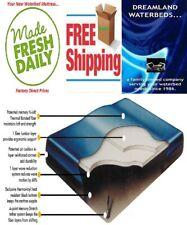 Super Single Boyd Fiber 1000-60% Waveless Tether Waterbed Mattress W/ Lumbar