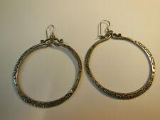 Boucles d'oreilles 925/1000 Anneaux Touareg diamètre: 5,3 cm