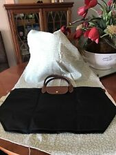 NEW Longchamp Le Pliage Black Tote Bag EXTRA LARGE Authentic Bought In Paris CDG