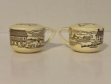 New ListingVintage Farmhouse Handled Salt And Pepper Shakers with Cork